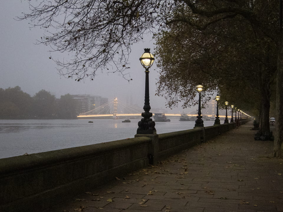 Chelsea Embankment Raingod